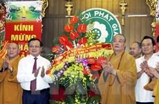 Naissance du Bouddhisme : meilleurs voeux à l'Eglise bouddhique du Vietnam