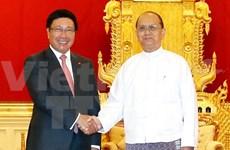 Renforcement de la coopération Vietnam-Myanmar