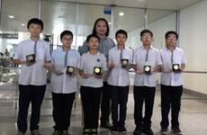 Mathématiques: six médailles d'or aux Olympiades d'Asie-Pacifique 2015