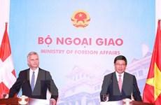La Suisse souhaite promouvoir sa coopération avec le Vietnam