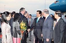 Le PM Nguyen Tan Dung entame une visite officielle en Bulgarie