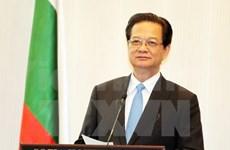 Nguyen Tan Dung préside le dialogue des entreprises vietnamo-bulgares