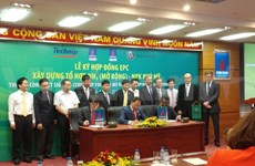 Contrat de construction du complexe d'engrais de Phu My à Ba Ria-Vung Tau
