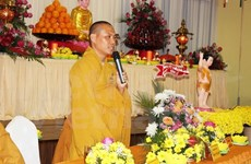 La diaspora vietnamienne en R. tchèque fête l'anniversaire de Bouddha