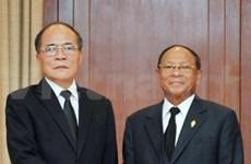 Nguyen Sinh Hung rencontre son homologue cambodgien