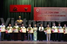 HCM-Ville: Près de huit cents donneurs de sang à l'honneur