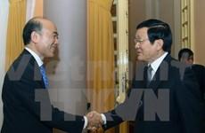 Le président Truong Tan Sang reçoit le directeur général adjoint du FMI