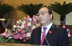 Le vice-PM Nguyên Xuân Phuc monte au créneau