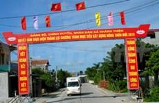 À Khánh Thiện, la première commune néo-rurale de Ninh Binh