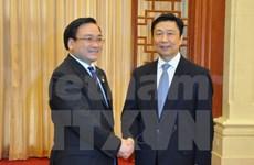 Renforcer le partenariat stratégique intégral Vietnam-Chine