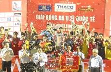Le Vietnam décroche le titre de champion de la Coupe internationale de football U21