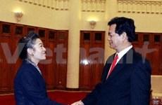 Le PM reçoit la ministre sud-coréenne de l'Environnement
