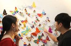 """République de Corée-Vietnam: ouverture de l'exposition  """"Se transformer en papillon"""""""