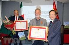 Le vice-président de l'AN Phung Quoc Hien en visite de travail en Italie