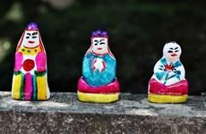 Les statues d'argile, un bel élément du folklore vietnamien