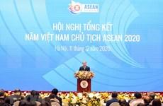 ASEAN 2020 : le Vietnam contribue activement à l'édification d'une communauté cohésive et réactive