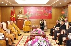 Les activités de l'Eglise bouddhique du Vietnam saluées