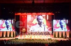 Célébration du 130e anniversaire du Président Hô Chi Minh