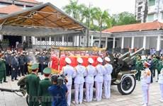 L'adieu à l'ancien secrétaire général du Parti Lê Kha Phiêu