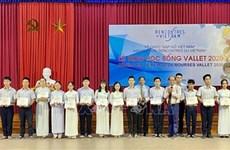 Plus de 200 élèves et étudiants de Thua Thien-Hue reçoivent des bourses Vallet