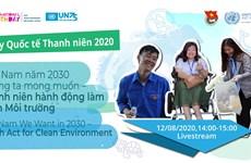 Lancement du concours d'initiative jeunesse «Payez vert pour la mer» en 2020