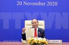 Le Premier ministre Nguyen Xuan Phuc participe au 27e Sommet de l'APEC