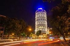 Le nouveau siège du Centre de télévision de l'Agence vietnamienne d'Information