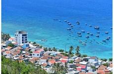 L'île de Cù Lao Xanh paisible