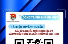 Les jeunes de Hanoï appliquent les TI au service des élections législatives