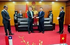 Le Vietnam et le Chili veulent tirer parti des accords de libre-échange