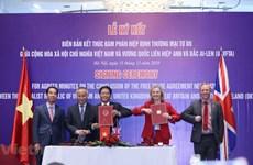 Vietnam-Royaume-Uni : l'accord de libre-échange sera un nouveau moteur pour le commerce bilatéral