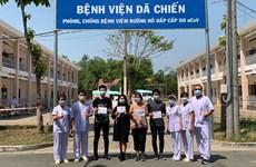 COVID-19 : Cinq nouveaux patients guéris