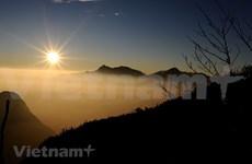 La pure beauté de Hoang Lien Son à l'aube