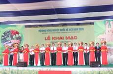La Foire internationale de l'agriculture du Vietnam 2020 s'ouvre à Cân Tho