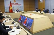 Vietnam-Chine : Entretien virtuel entre Vuong Dinh Hue et Li Zhanshu