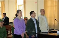 Lam Dong: Condamnation de  trois accusés de 6 à 7 ans de prison pour actes subversifs