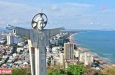 La plus grande statue du Christ du Vietnam est à Vung Tàu