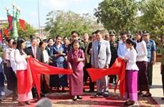 Inauguration d'un autre monument de l'amitié Vietnam-Cambodge