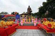Célébration des 231 ans de la victoire de Ngoc Hoi-Dong Da