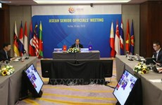 ASEAN 2020: réunion en ligne des hauts officiels de l'ASEAN
