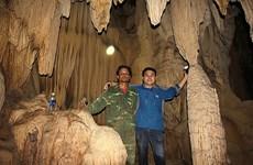 Une nouvelle grotte découverte à Quang Tri