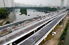 Hanoi réduit la congestion à Linh Dàm par des ponts lacustres