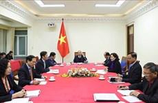Conversation téléphonique entre Nguyen Xuan Phuc et Donald Trump
