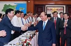 Le président Nguyên Xuân Phuc se rend à Dà Nang