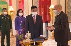 Le roi Norodom Sihamoni salue l'essor des relations Cambodge-Vietnam