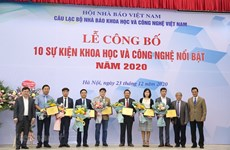 Les dix événements scientifiques et technologiques marquants de 2020 au Vietnam