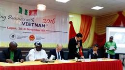 Promotion du commerce avec le Nigéria et le Ghana