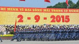Félicitations pour les 70 ans d'indépendance du Vietnam