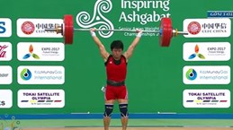 Le Vietnam rafle l'or aux Championnats d'Asie d'haltérophilie 2017