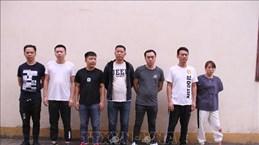 Remise à la Chine sept personnes impliquées dans les jeux d'argent à Lao Cai